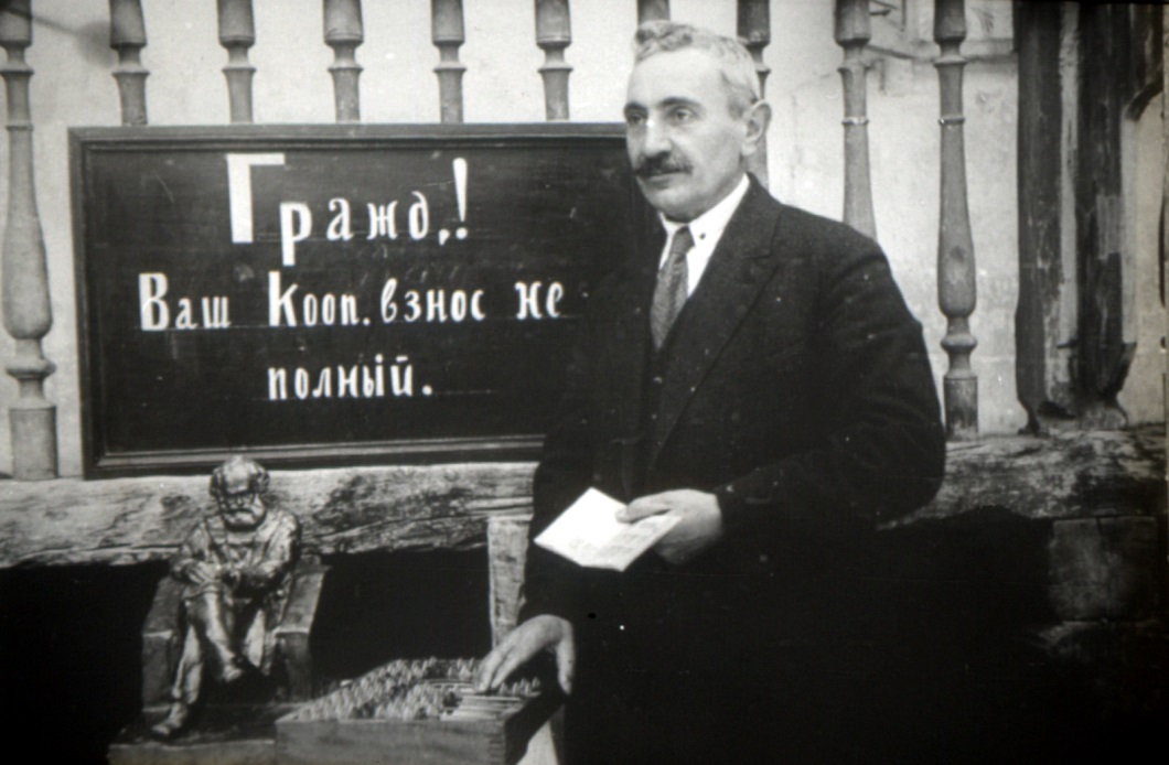 Call for collectivization/ Source: Starte Historical Film and Foto Archive Baku.